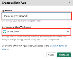 Development Slack Workspace